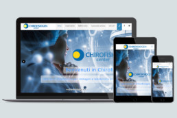 Chirofisiogen - by Weedea responsive website - desktop, tablet and mobile