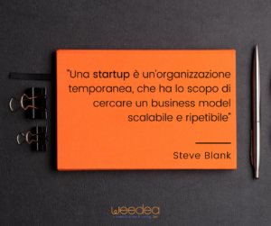 cos'è una startup - Weedea